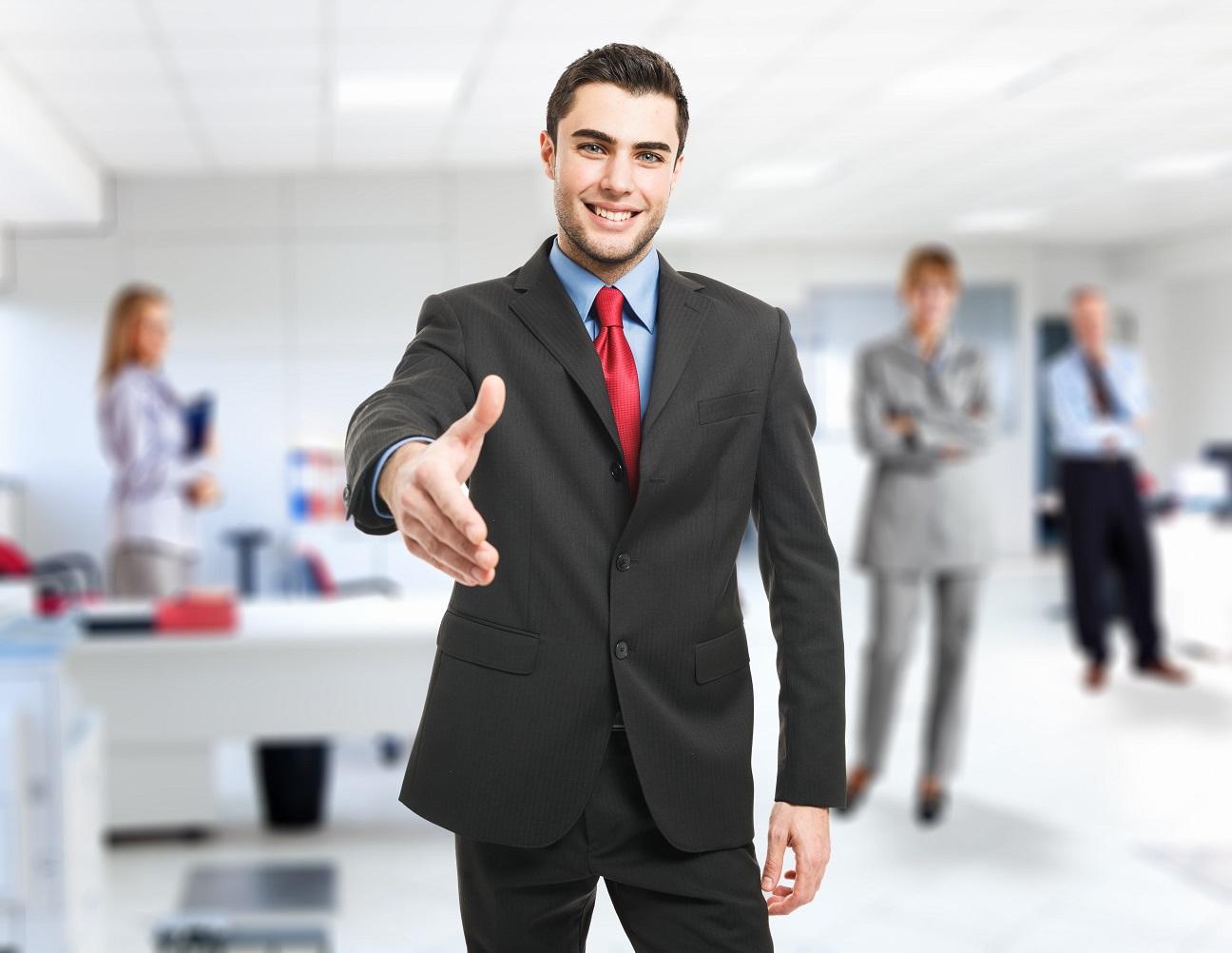 Firmenverzeichnisse-Unternehmenspräsentation-Business-mann